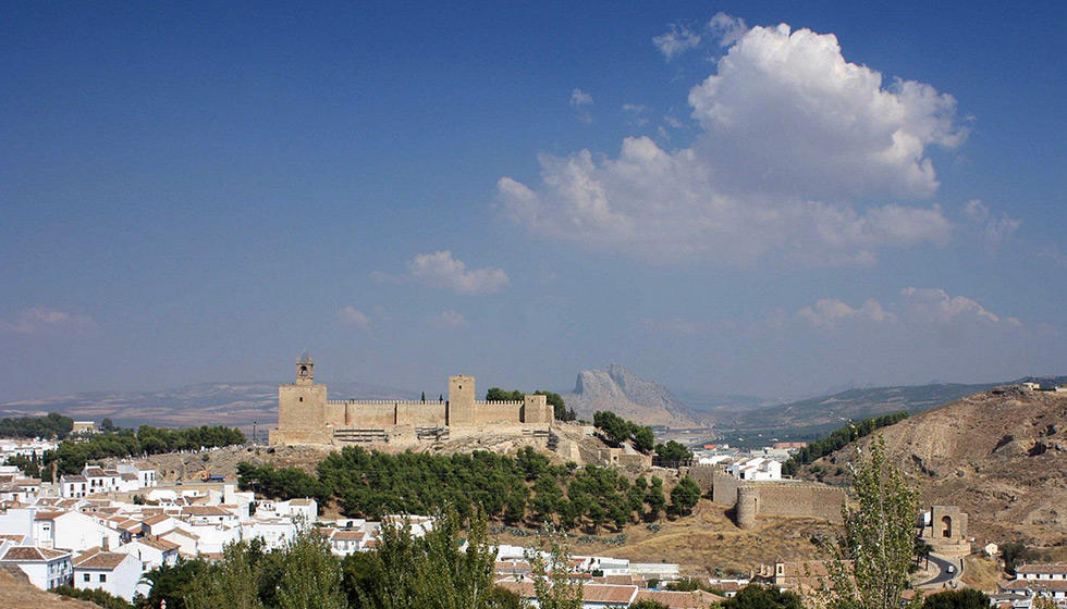 The Alcazaba fortress