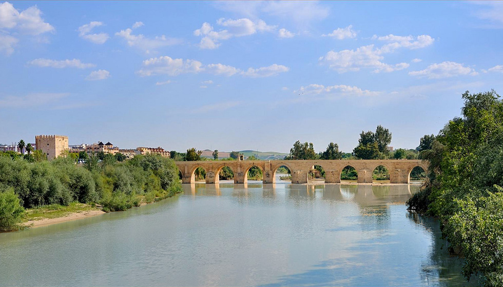 The Puente Romano over the Rio Guadalquivir