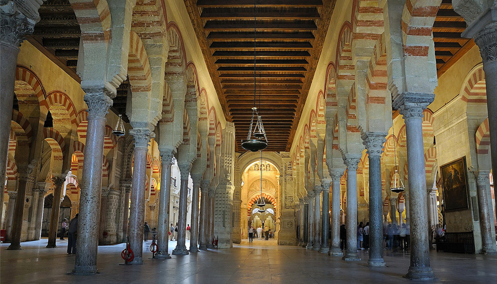The Mezquita of Córdoba is, along with Granada's Alhambra Palace, the finest example of Islamic Art in the Western world