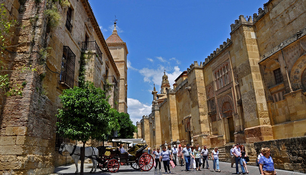 Outside the Mezquita