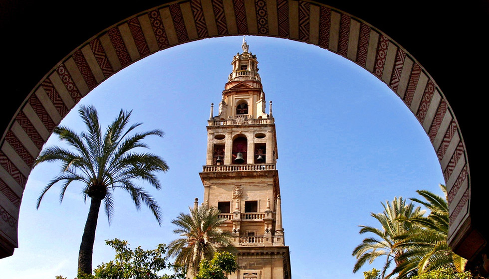 Torre del Alminar, the bell tower built on the site of the original minaret of the Mezquita