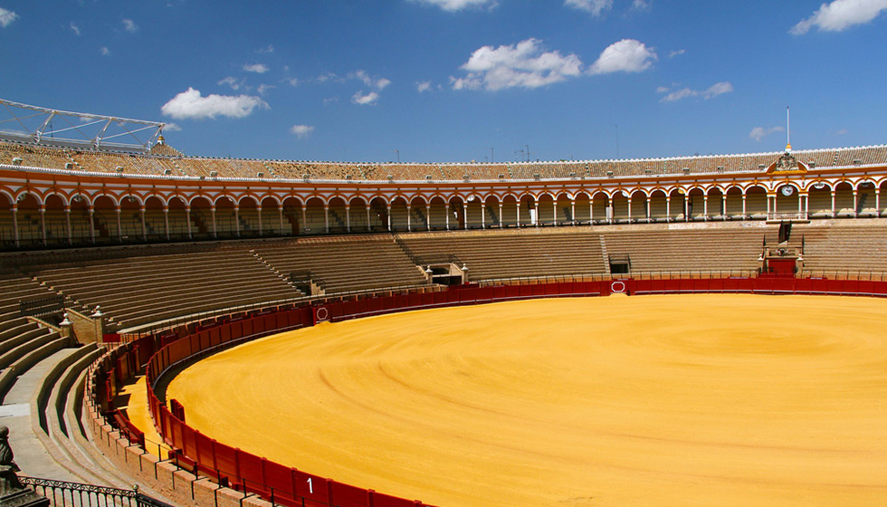 The Plaza de Toros de la Real Maestranza is one of the most famous and magnificent bullfighting venues in Spain