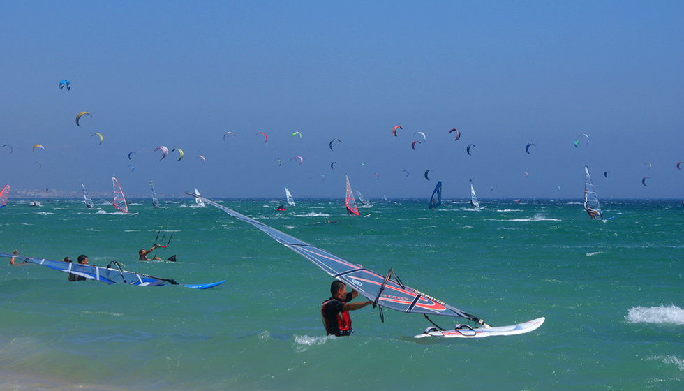 The wind and kite surfing capital of Europe