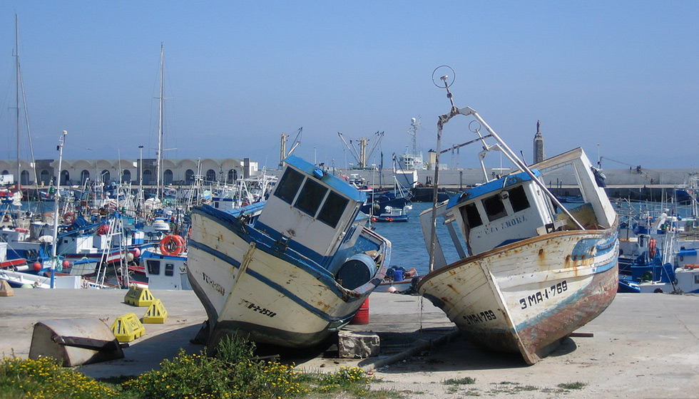 It's still a thriving little fishing port