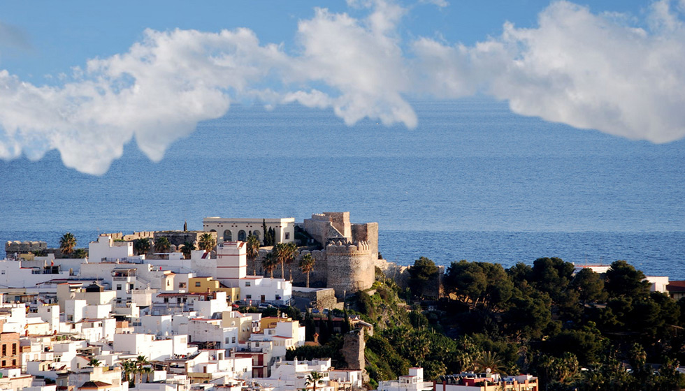 Almuñécar's Arab castle still stands, overlooking town and sea