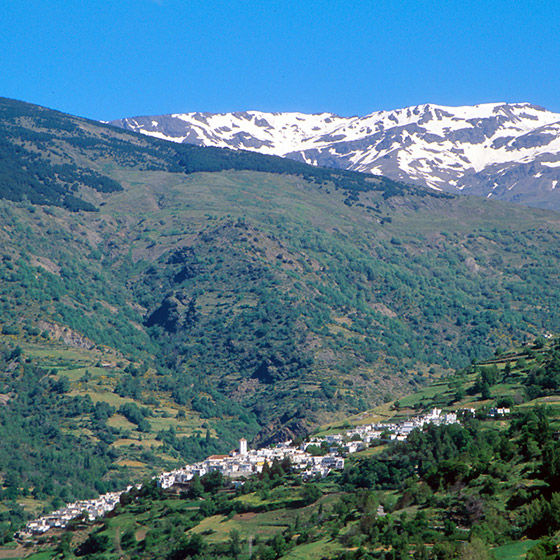 Map Of Spain With Mountains.Rustic Blue Holiday Guide To Andalucia Spain Las Alpujarras