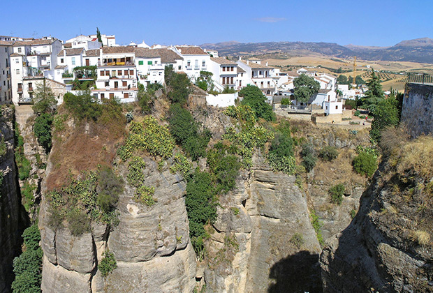 Rustic Blue Holiday Guide To Andalucia Spain Ronda