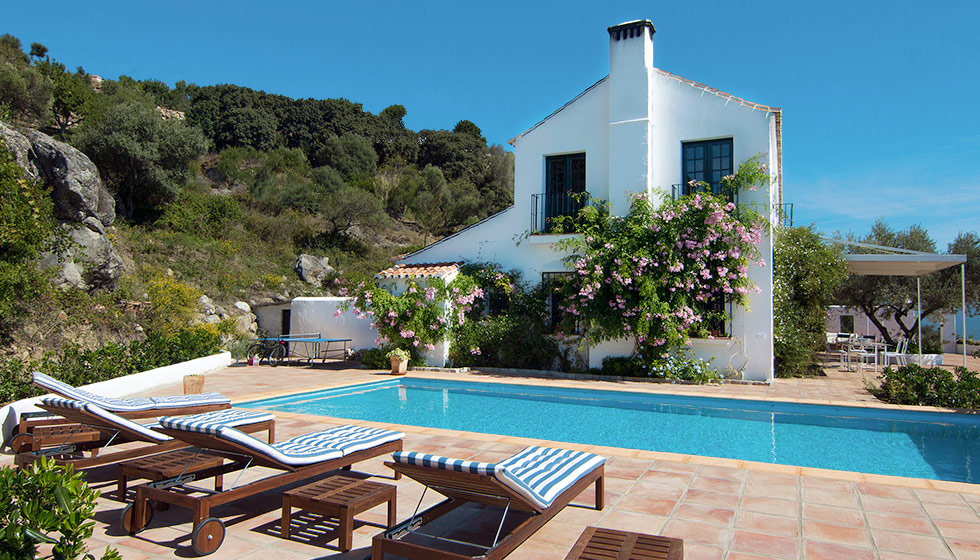 Country house for holiday rental gaucin andalucia spain