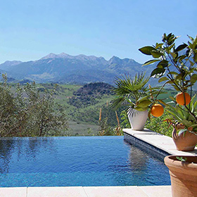 Sleeps: 2 And A Baby; Bedrooms: 2; Location: Montecorto, Ronda Mountains;  Pool: Private (3 M X 3 M); Price: From 1,300u20ac To 1,560u20ac